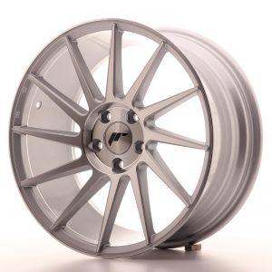 JR Wheels JR22 18x8,5 ET40 5x112 Silver Machined Face