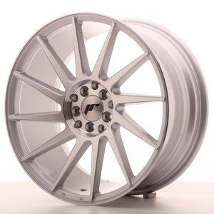 JR Wheels JR22 18x8,5 ET40 5x112/114 Silver Machined Face