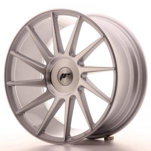 JR Wheels JR22 18x8,5 ET20-40 BLANK Silver Machined Face