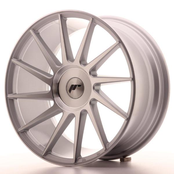 JR Wheels JR22 18x8,5 ET40 BLANK Silver Machined Face
