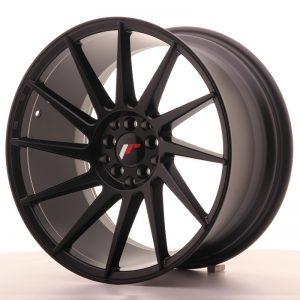 JR Wheels JR22 18x9,5 ET40 5x112/114 Matt Black