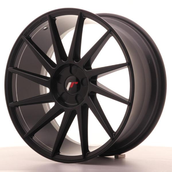 JR Wheels JR22 19x8,5 ET35-43 5H BLANK Matt Black