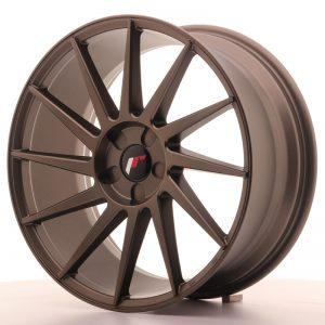 JR Wheels JR22 19x8,5 ET35-43 5H BLANK Matt Bronze