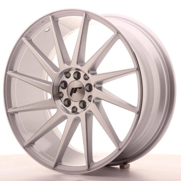 JR Wheels JR22 19x8,5 ET40 5x112/114 Silver Machined Face