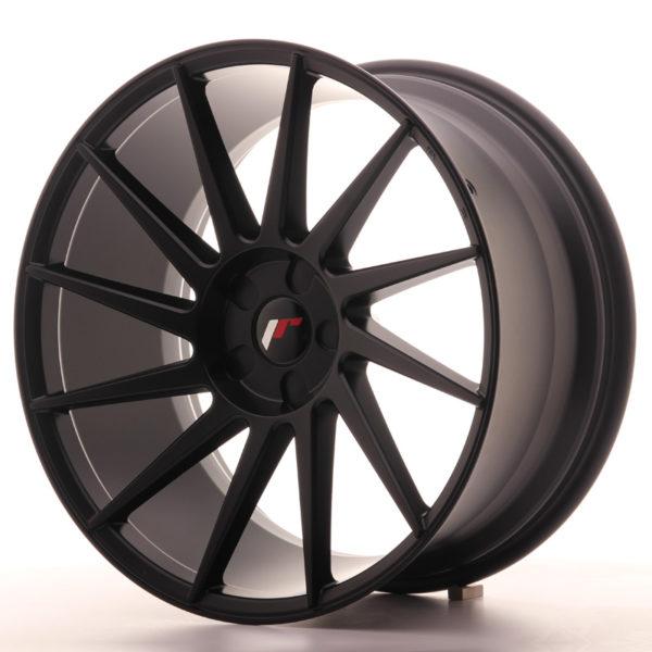 JR Wheels JR22 20x10 ET20-40 5H BLANK Matt Black