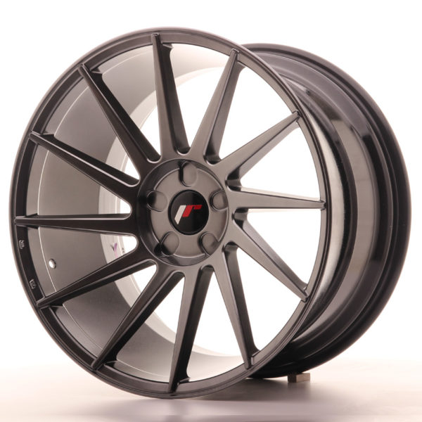 JR Wheels JR22 20x11 ET20-40 5H BLANK Hyper Black