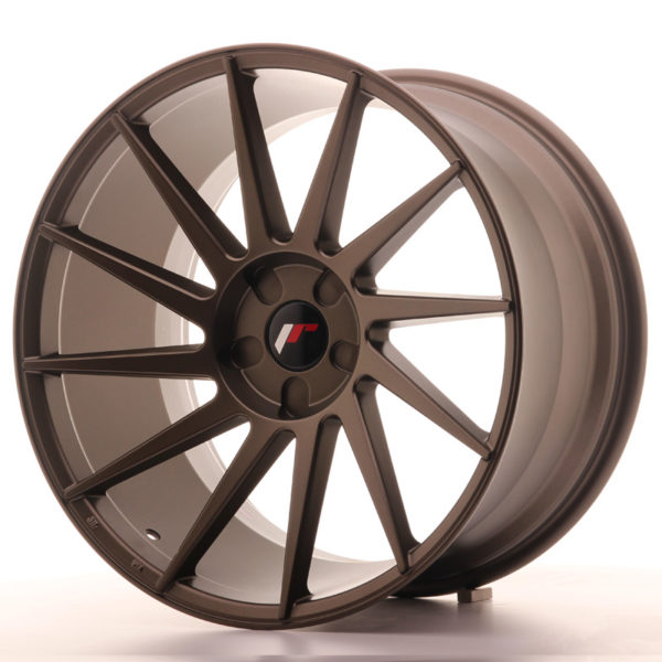 JR Wheels JR22 20x11 ET20-40 5H BLANK Matt Bronze