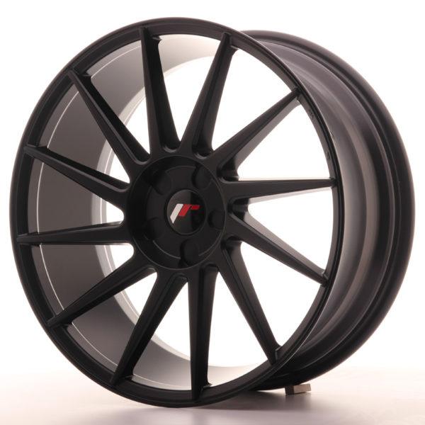 JR Wheels JR22 20x8,5 ET20-40 5H BLANK Matt Black