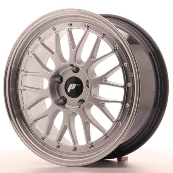 JR Wheels JR23 18x8 ET35 5x100 Hyper Silver w/Machined Lip