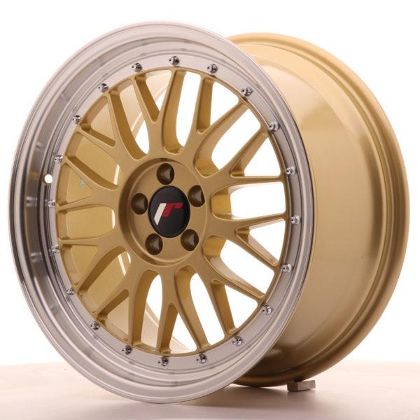 JR Wheels JR23 18x8,5 ET35 5x120 Gold w/Machined Lip