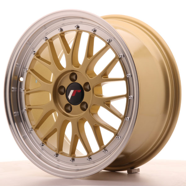 JR Wheels JR23 18x8,5 ET35 5x100 Gold w/Machined Lip