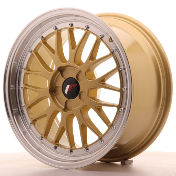 JR Wheels JR23 18x8,5 ET25-48 5H BLANK Gold w/Machined Lip