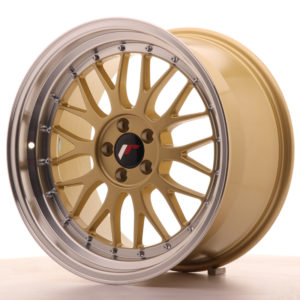 JR Wheels JR23 18x9,5 ET35 5x120 Gold w/Machined Lip