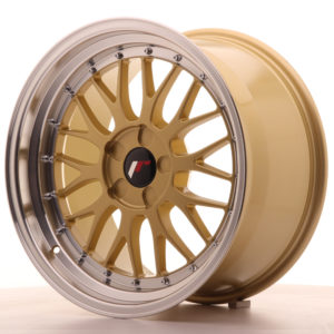 JR Wheels JR23 18x9,5 ET40-48 5H BLANK Gold w/Machined Lip