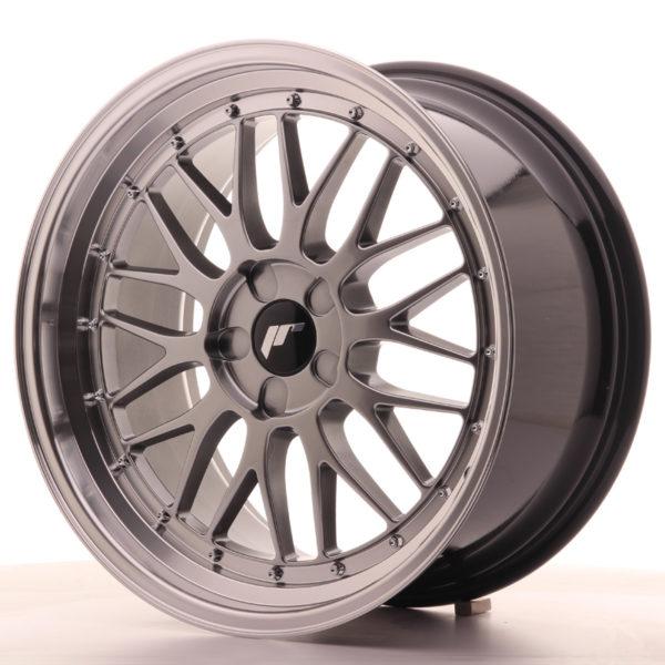 JR Wheels JR23 19x9,5 ET20-48 5H BLANK Hyper Black w/Machined Lip