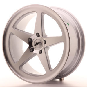 JR Wheels JR24 19x8,5 ET35 5x120 Silver Machined Face
