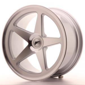 JR Wheels JR24 19x9,5 ET35-40 BLANK Silver Machined Face
