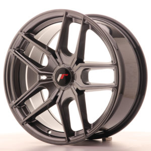 JR Wheels JR25 18x8,5 ET20-40 5H BLANK Hyper Black