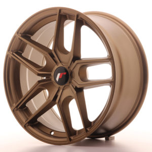 JR Wheels JR25 18x8,5 ET40 5H BLANK Bronze