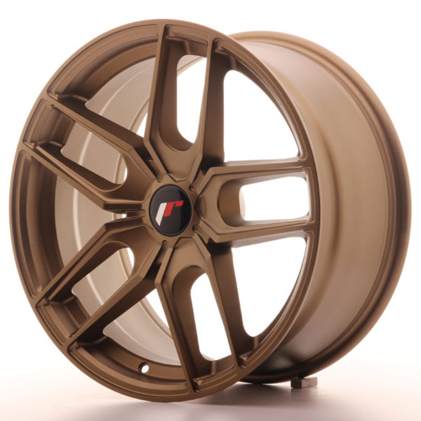 JR Wheels JR25 18x8,5 ET40 5H BLANK Bronze