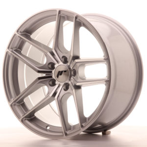 JR Wheels JR25 18x9,5 ET40 5x112 Silver Machined Face