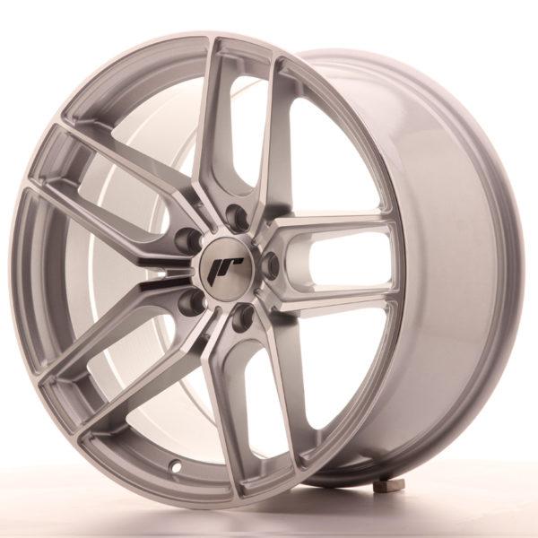 JR Wheels JR25 18x9,5 ET40 5x112 Silver Machined Face