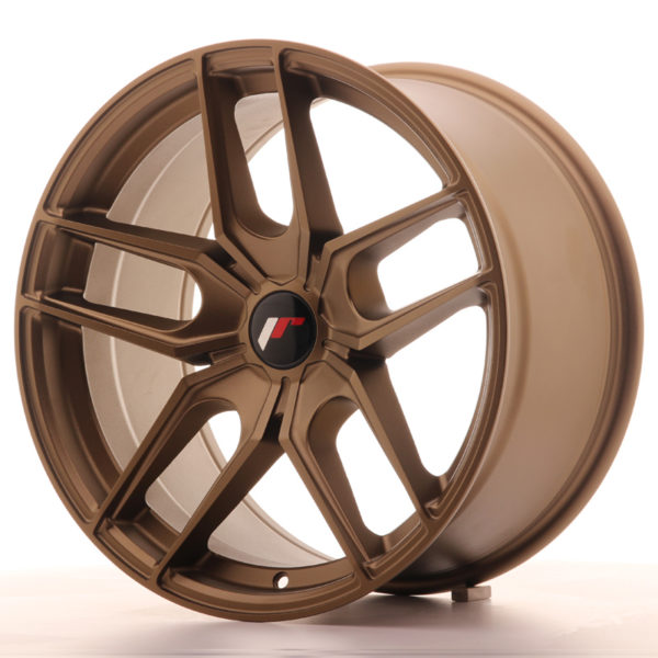 JR Wheels JR25 18x9,5 ET20-40 5H BLANK Bronze