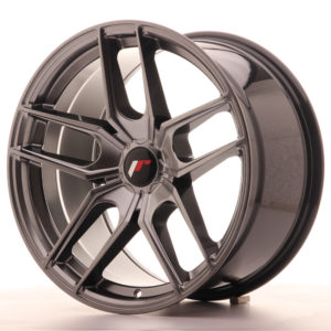 JR Wheels JR25 18x9,5 ET20-40 5H BLANK Hyper Black