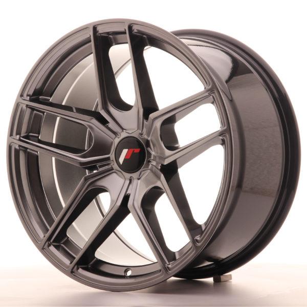 JR Wheels JR25 18x9,5 ET20-40 5H BLANK Hyper Black