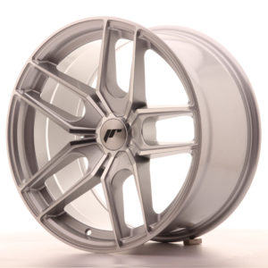 JR Wheels JR25 18x9,5 ET20-40 5H BLANK Silver Machined Face