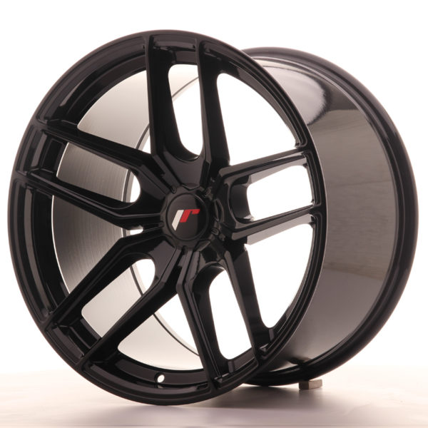 JR Wheels JR25 19x11 ET20-40 5H BLANK Gloss Black