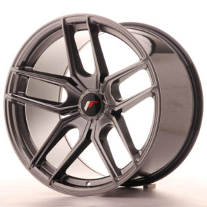 JR Wheels JR25 19x11 ET20-40 5H BLANK Hyper Black