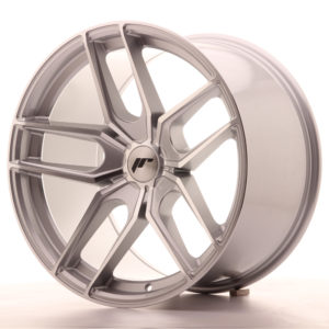 JR Wheels JR25 19x11 ET20-40 5H BLANK Silver Machined Face