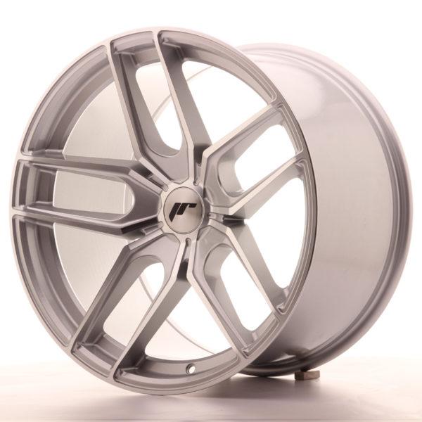 JR Wheels JR25 19x11 ET20-40 5H BLANK Silver Machined Face