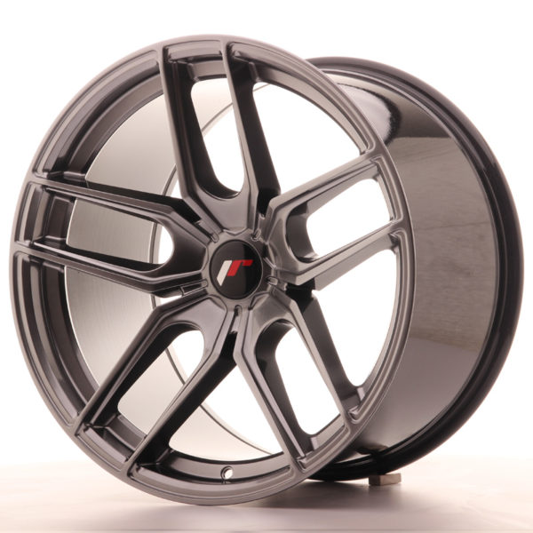 JR Wheels JR25 19x11 ET40 5H BLANK Hyper Black