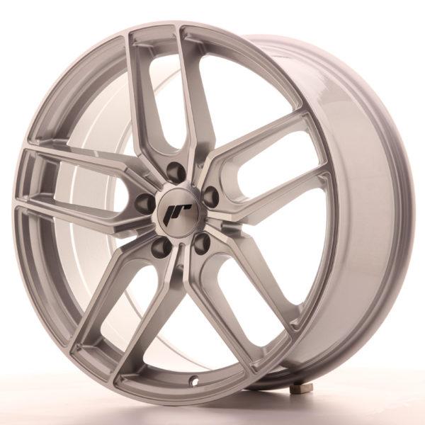 JR Wheels JR25 19x8,5 ET35 5x120 Silver Machined Face