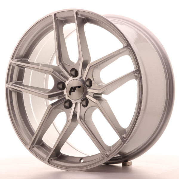 JR Wheels JR25 19x8,5 ET40 5x112 Silver Machined Face