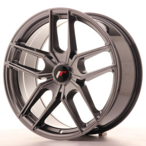 JR Wheels JR25 19x8,5 ET20-40 5H BLANK Hyper Black
