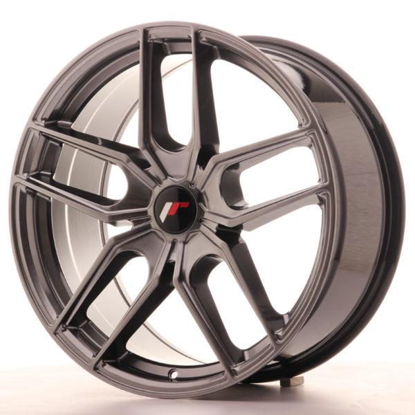 JR Wheels JR25 19x8,5 ET20-40 5H BLANK Hyper Black