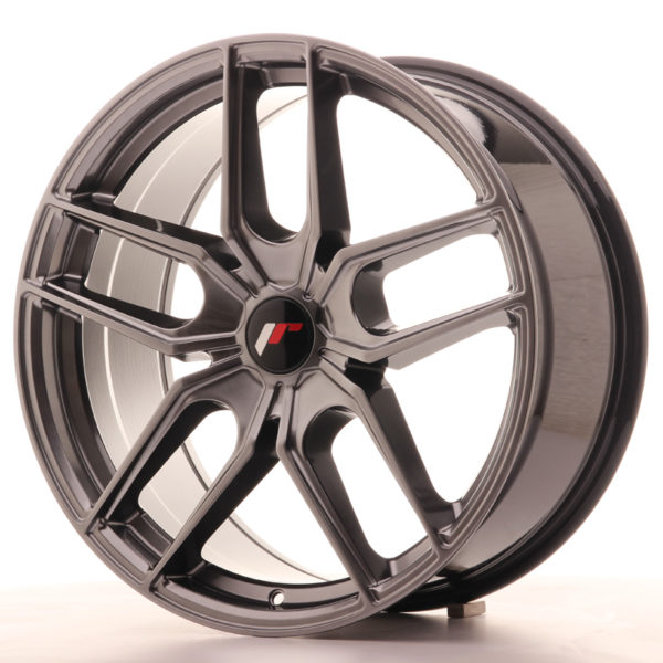 JR Wheels JR25 19x8,5 ET40 5H BLANK Hyper Black