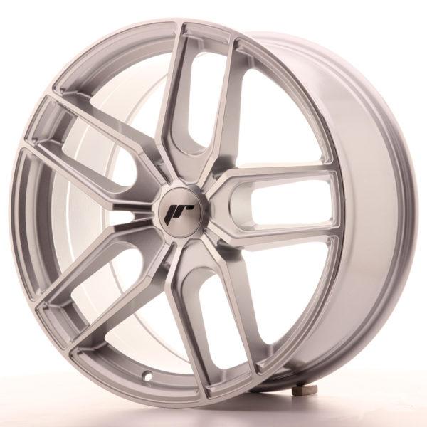 JR Wheels JR25 19x8,5 ET40 5H BLANK Silver Machined Face