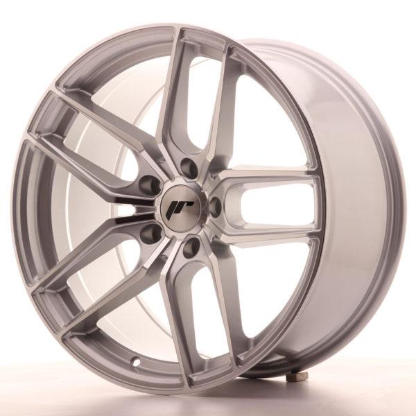 JR Wheels JR25 19x9,5 ET35 5x120 Silver Machined Face