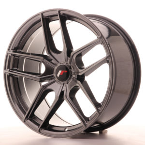 JR Wheels JR25 19x9,5 ET20-40 5H BLANK Hyper Black