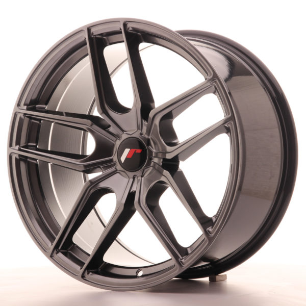 JR Wheels JR25 19x9,5 ET20-40 5H BLANK Hyper Black