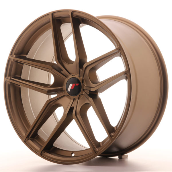 JR Wheels JR25 20x10 ET20-40 5H BLANK Bronze
