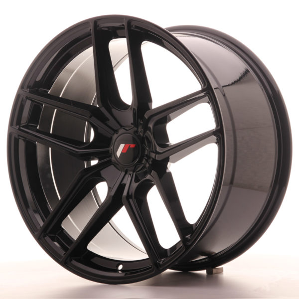 JR Wheels JR25 20x10 ET20-40 5H BLANK Gloss Black
