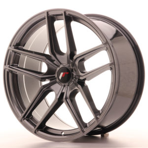 JR Wheels JR25 20x10 ET20-40 5H BLANK Hyper Black