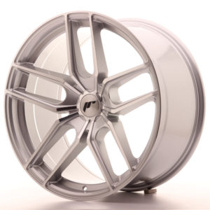JR Wheels JR25 20x10 ET20-40 5H BLANK Silver Machined Face