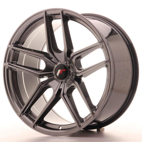 JR Wheels JR25 20x10 ET40 5H BLANK Hyper Black