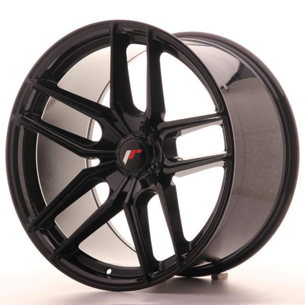 JR Wheels JR25 20x11 ET20-40 5H BLANK Gloss Black